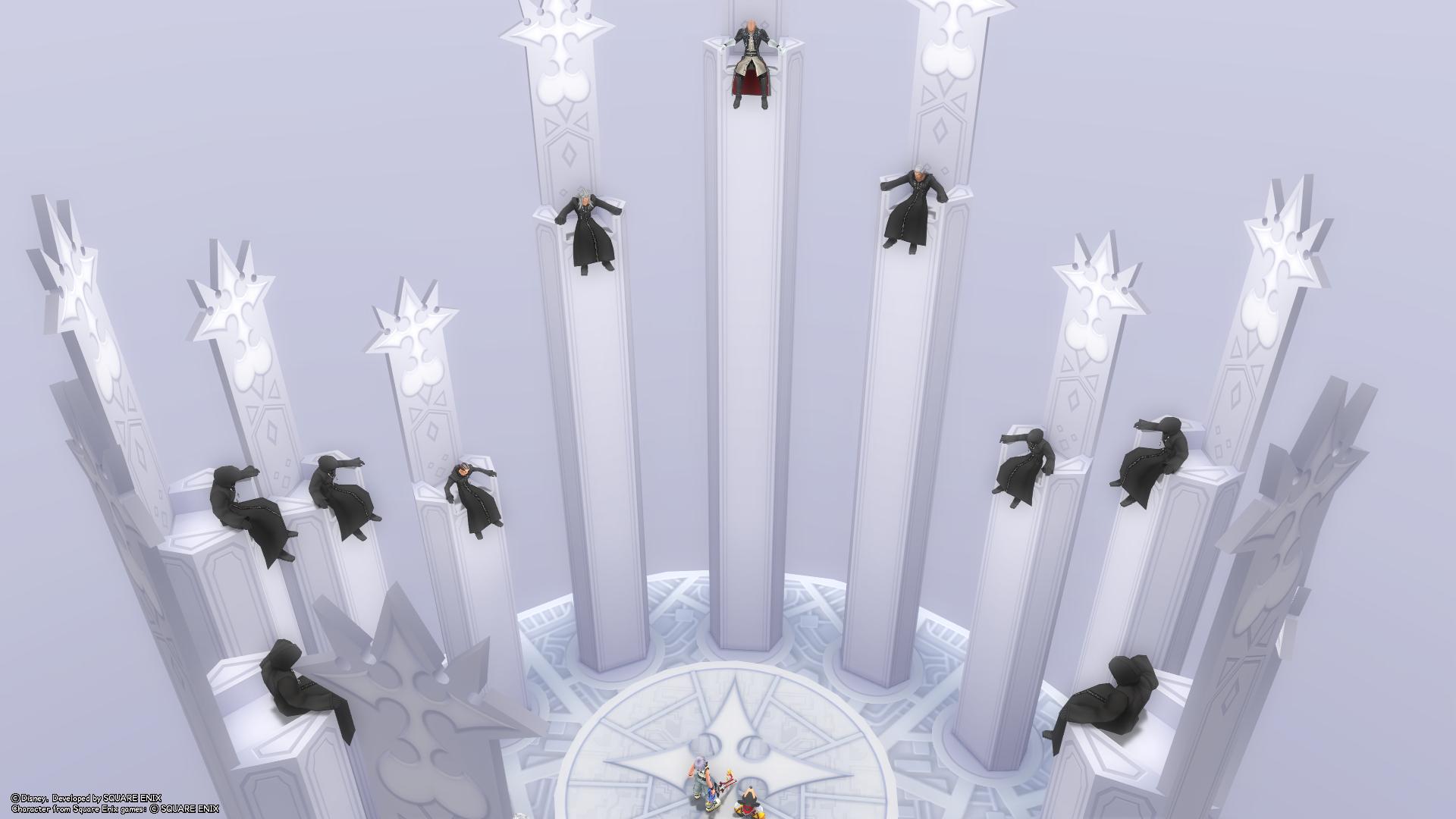 Kingdom Hearts  Throne Room