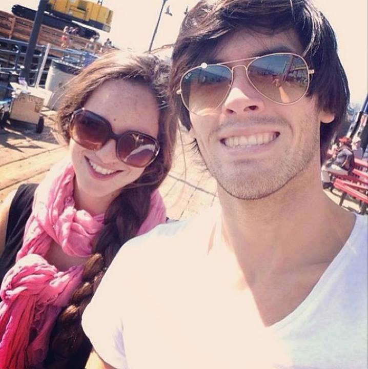 Germán Garmendia with Girlfriend Allison Smith