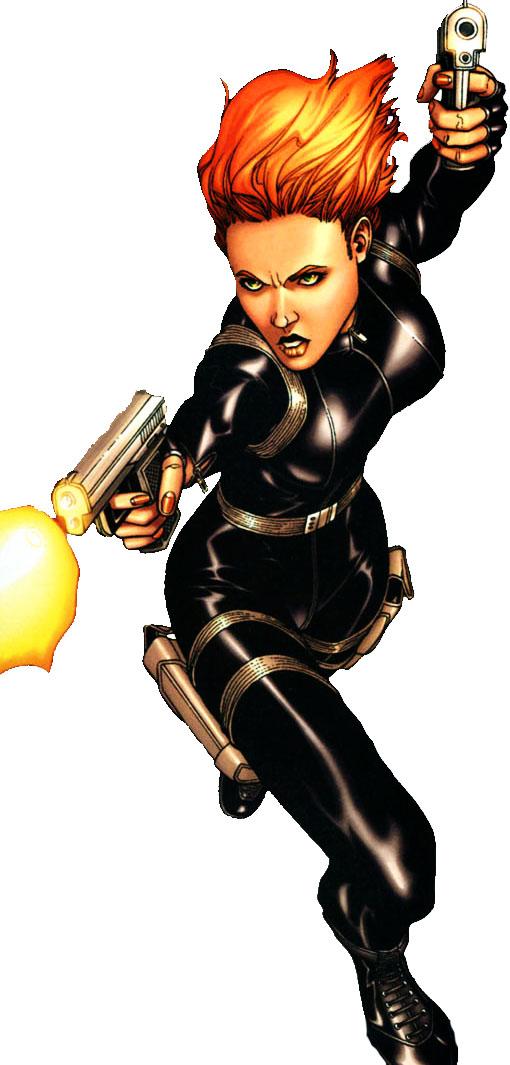 Ultimate Spider Man Black Widow Black Widow (Ultimate ...