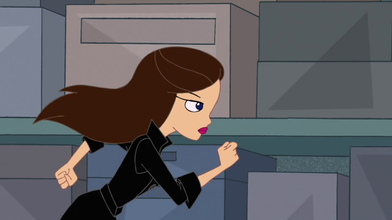 Image Vanessa Running I 39 M Me Jpg Phineas And Ferb Wiki Your