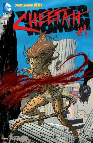 Cover for Wonder Woman #23.1: The Cheetah (2013)