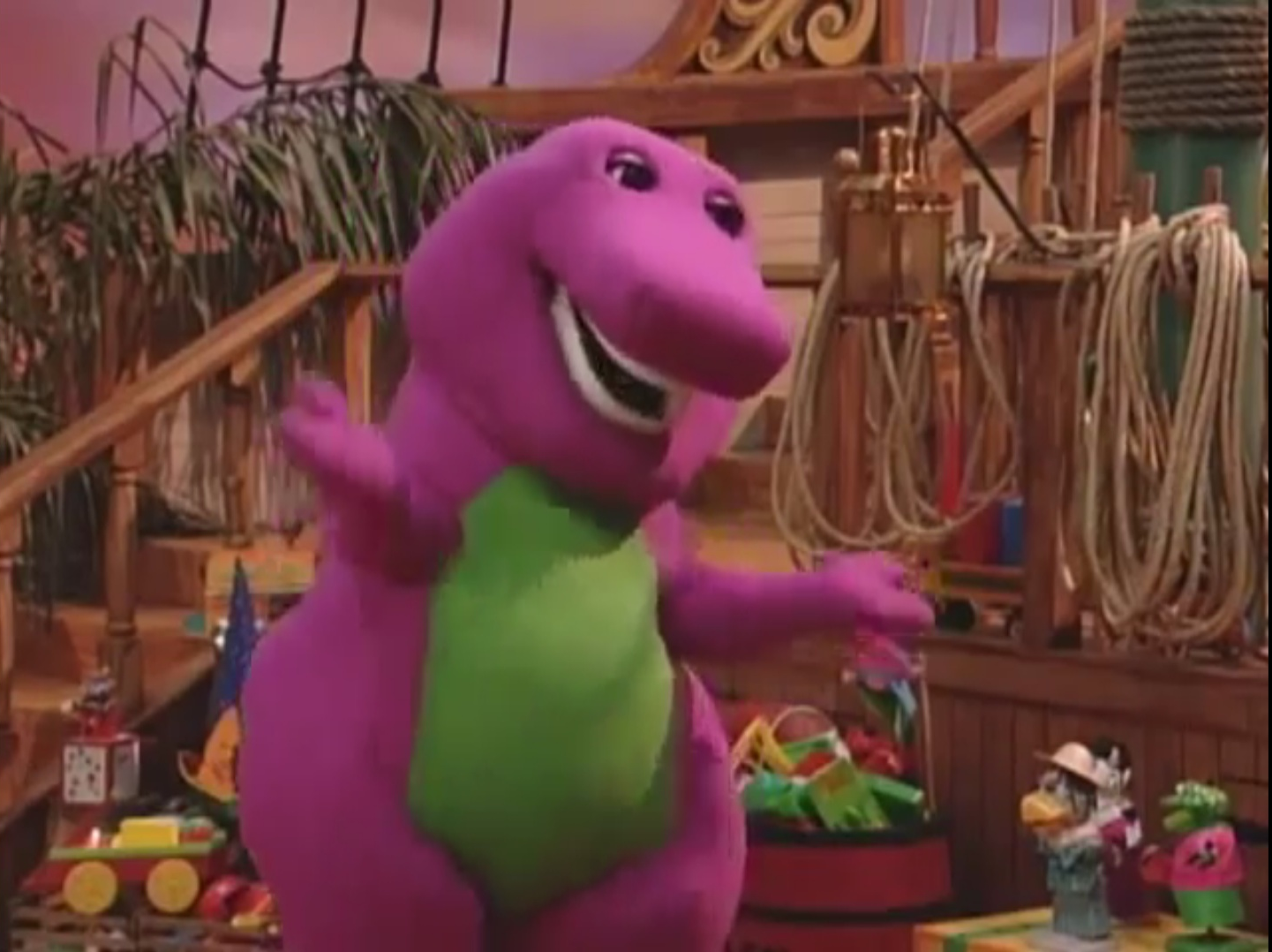 Barney Through The Years