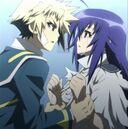 Zenkichi takes Medaka II's hands.jpg