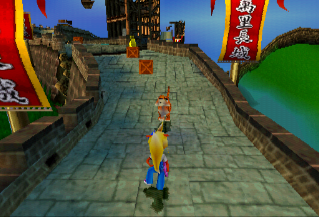 crash bandicoot 2 how to get to next warp room