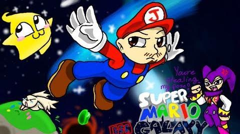 Super Mario Galaxy - Part 1 The night Miyamoto went nuts on the storyboard.