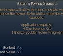 Ability: Power Strike