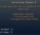 Adventure: Energy I