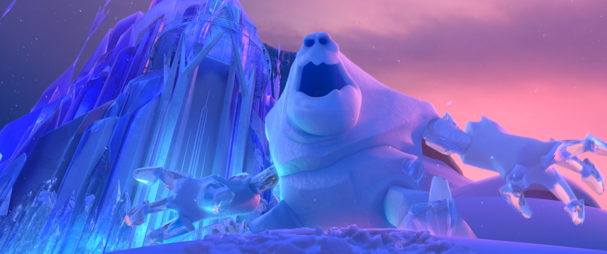 Frozen Disney Marshmallow Snow Monster