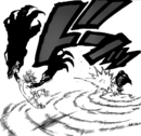 Helbram hitting Meliodas after getting power from his Link ability.png