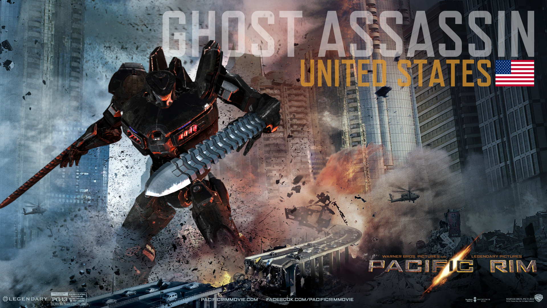 Ghost Assassin - Custom Pacific Rim Wiki Pacific Rim Eden Assassin