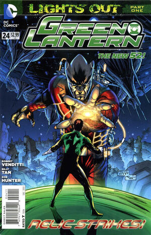 Cover for Green Lantern #24 (2013)