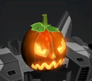 Angry Pumpkin Head