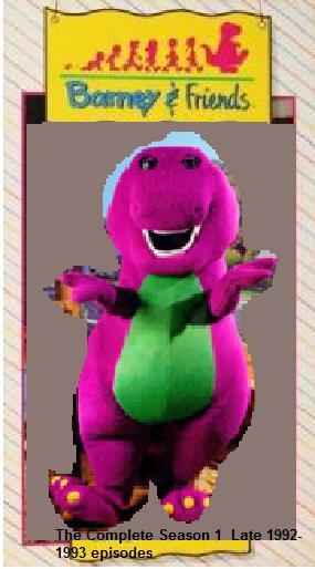 Barney Friends Custom Intro Season 1 Season 7 Mix