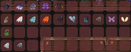 Terraria Wings Chart Related Keywords & Suggestions