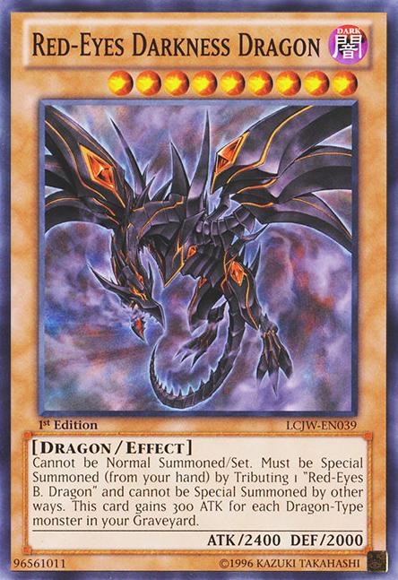 Card Errata:Red-Eyes Darkness Dragon - Yu-Gi-Oh! - Wikia  Card Errata:Red...