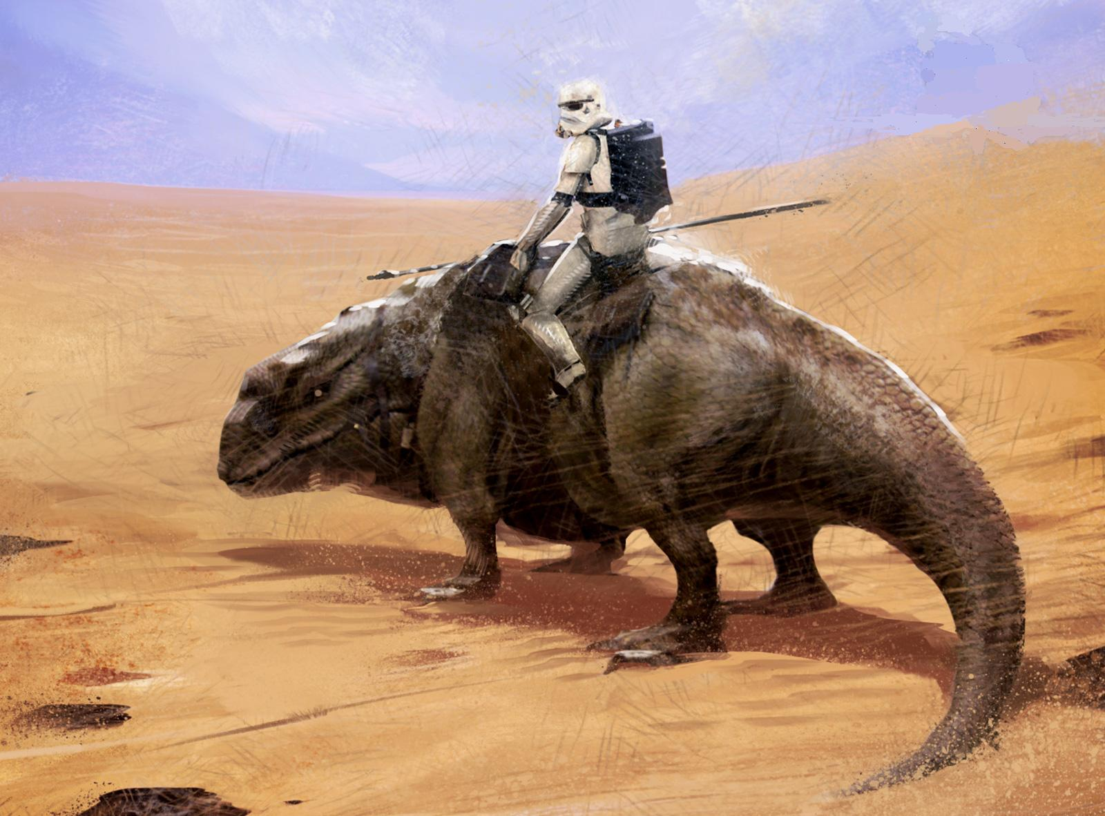 Dewback trooper's Damage stat glitched? - Star Wars ...
