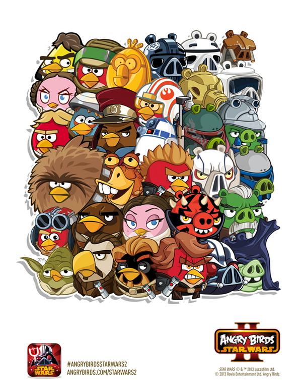Image Angry Birds Star Wars II All Charactersjpg