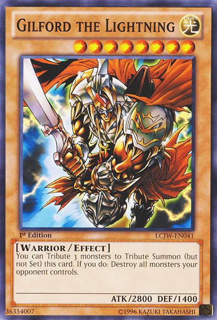 Majestic Knights Card Shop GilfordtheLightning-LCJW-EN-C-1E