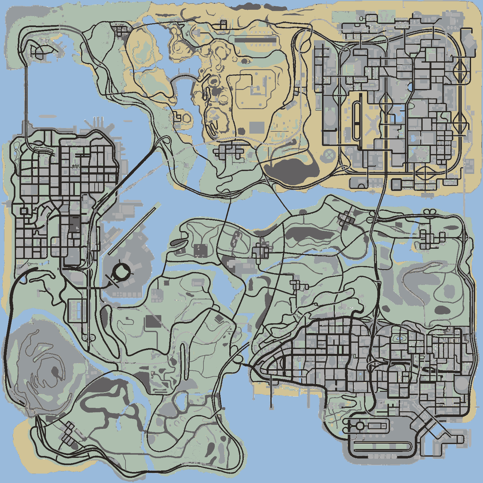 gta san andreas maps