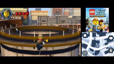 LEGO City Undercover (3DS) The Chase Begins - All 40 LEGO Super Builds