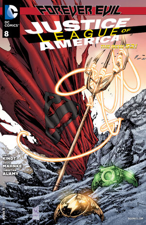 Cover for Justice League of America #8 (2013)