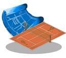 Tennis Court Blueprint