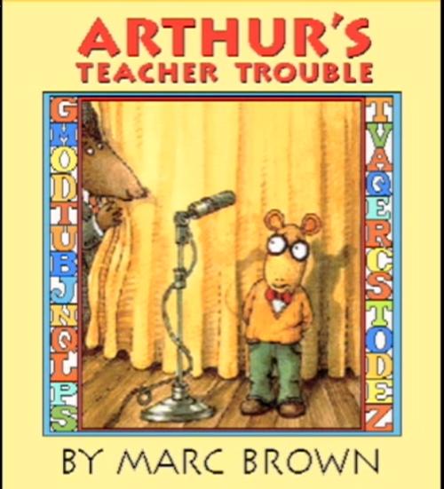 arthurs teacher trouble coloring pages - photo#11