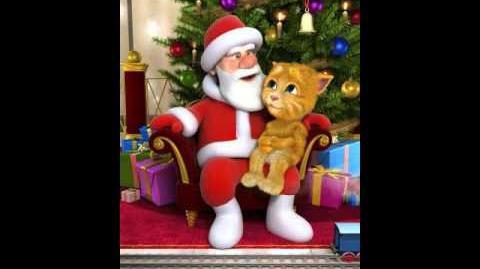 Talking Santa meets Ginger
