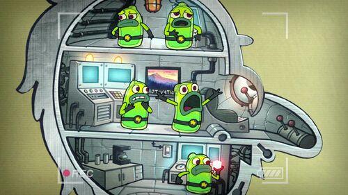 Little Green Men Gravity Falls Wiki
