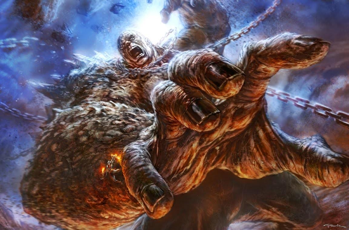 Cronos  God of War Cronus Titan