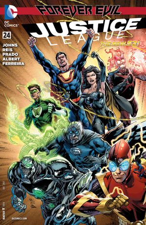Cover for Justice League #24 (2013)