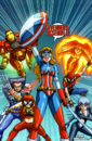 Avengers (Earth-2301) from New Mangaverse The Rings of Fate Vol 1 4 0001.png