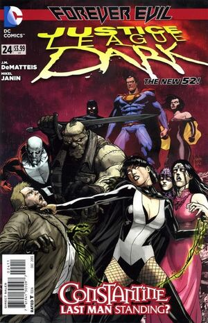 Cover for Justice League Dark #24 (2013)