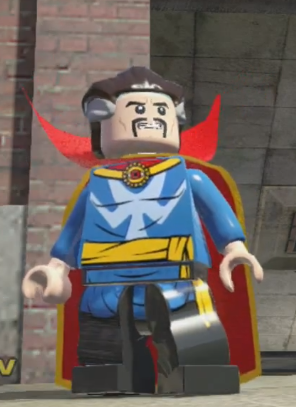 how to get doctor strange in lego marvel