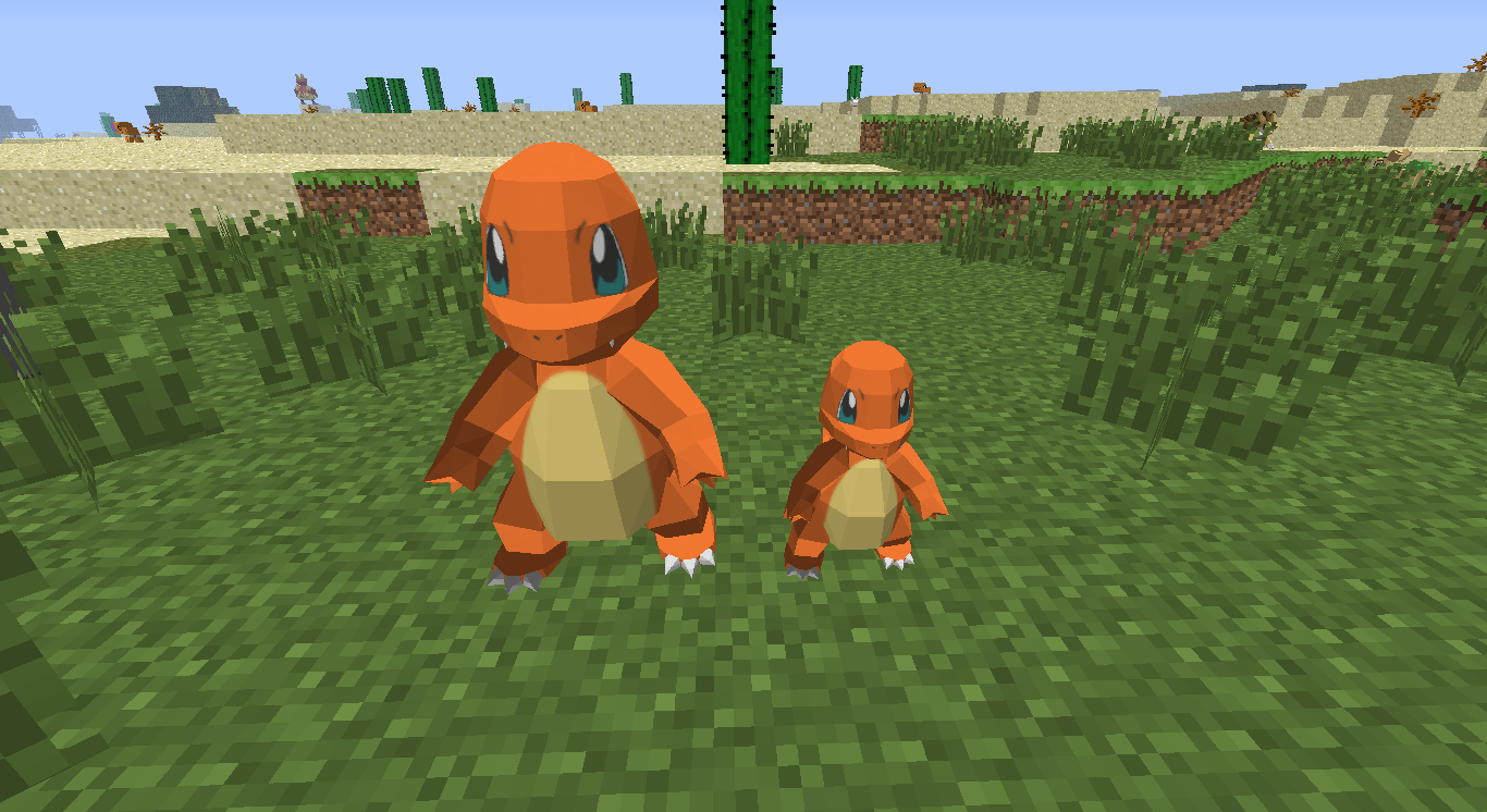 Pixelmon 39 s 3d models mods discussion minecraft mods Minecraft 3d model maker