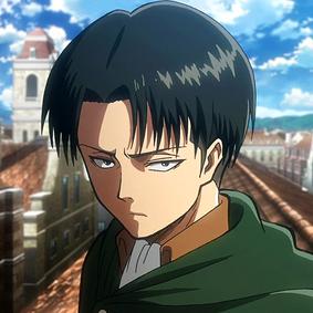 Shingeki no Kyojin. 283px-Levi_in_anime