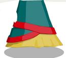 Festive Geisha Skirt