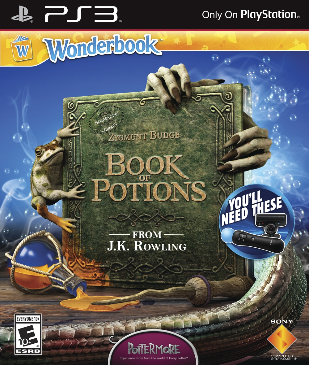 Harry Potter Book Wiki : Wonderbook book of potions harry potter wiki wikia