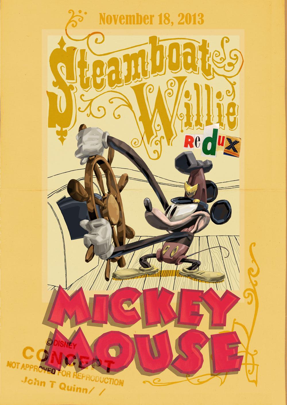 Steamboat Willie Redux Disneywiki