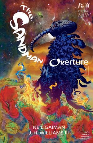 Cubierta para Sandman: Obertura n º 1 (2013)