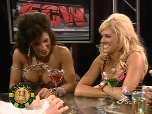 Ecw Divas Strip Poker
