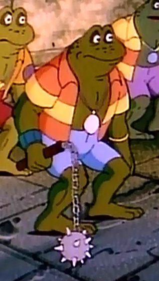 attila the frog 1987 tv series tmntpedia wikia