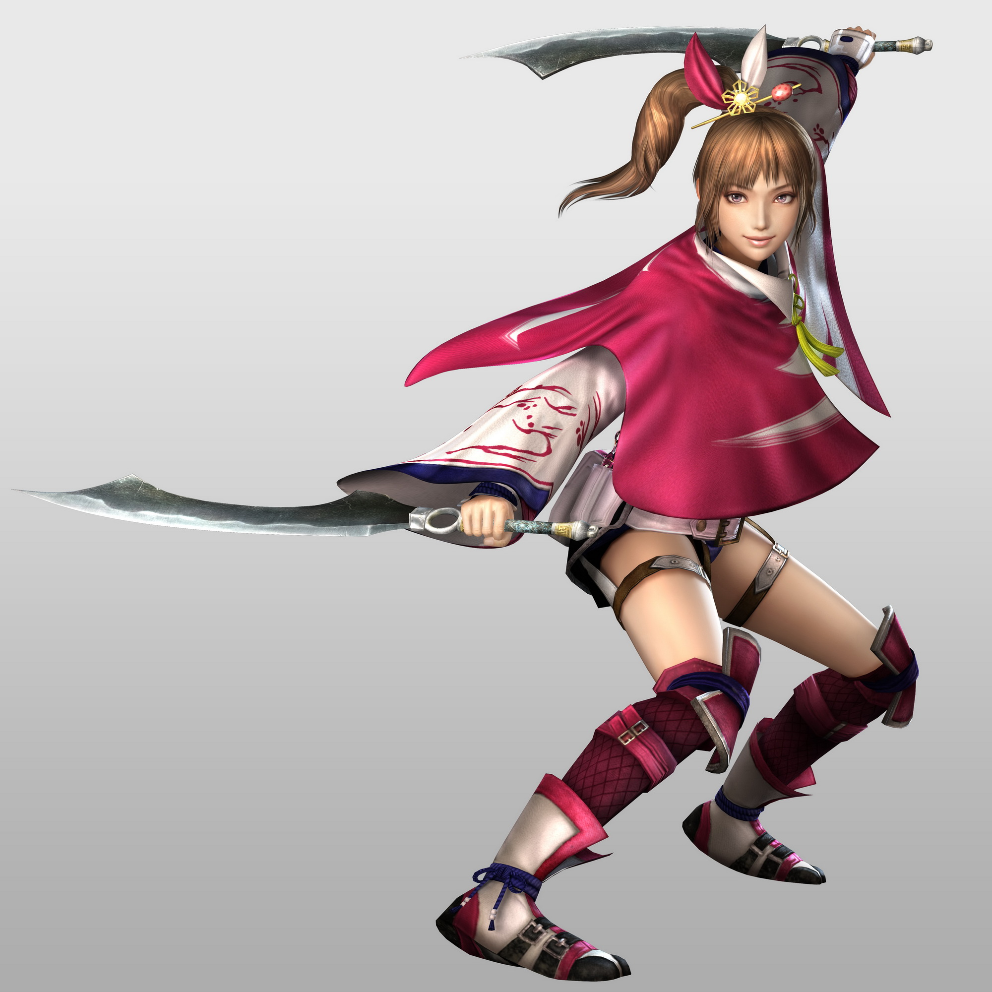 The Protectors of Ransei! *New and improved* Kunoichi-sw4