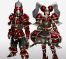 MHFG Hunting Horn Specific Armor Set Renders