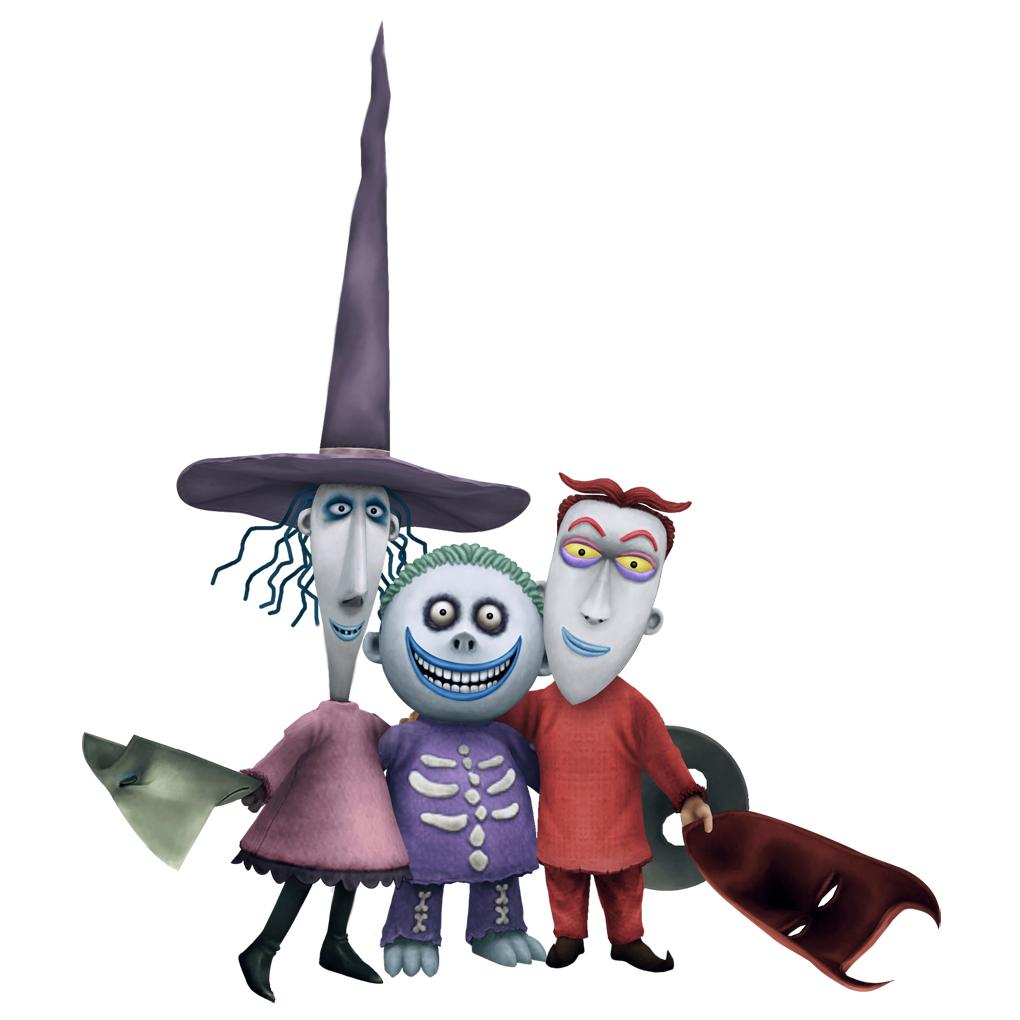 Lock, Shock, and Barrel - The Nightmare Before Christmas Wiki - Wikia