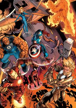 Ultimates (Earth-1610) from Cataclysm The Ultimates' Last Stand Vol 1 1 001
