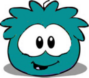 The bird creator/Teal Puffle