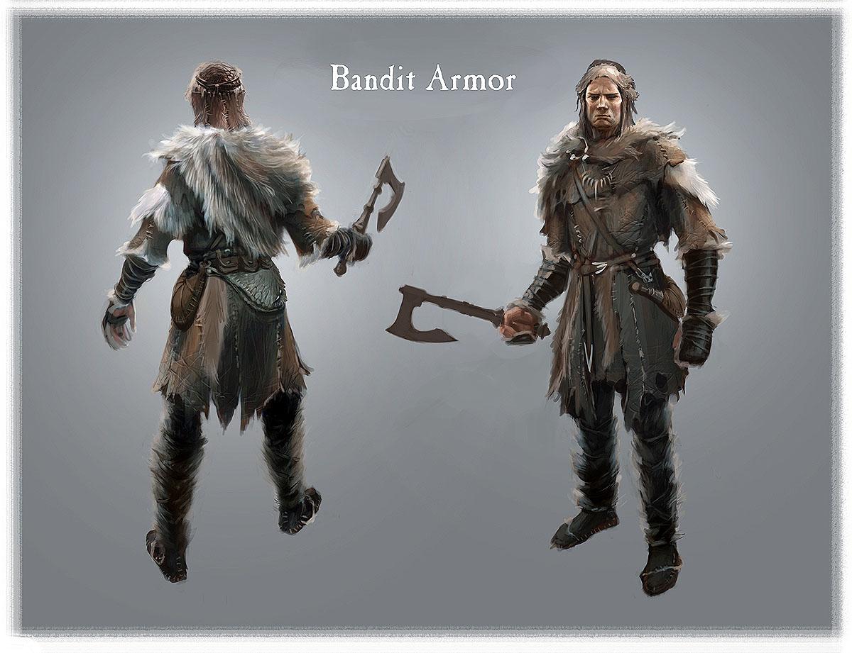 Oblivion Male Armor Fur Armor Male Full Body With
