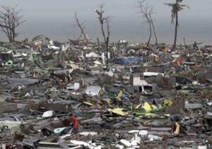 Philippines storm damage 2013