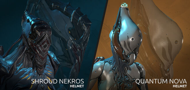 Nekros Shroud-Quantum Nyx alternate helms